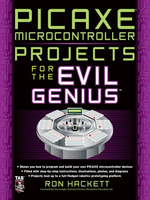 cover image of PICAXE Microcontroller Projects for the Evil Genius