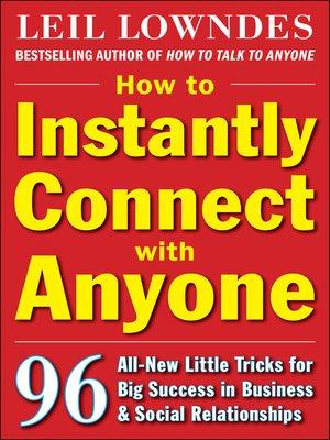 cover image of How to Instantly Connect with Anyone