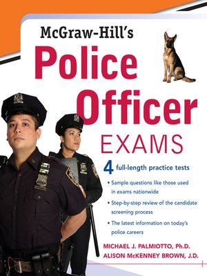 cover image of McGraw-Hill's Police Officer Exams