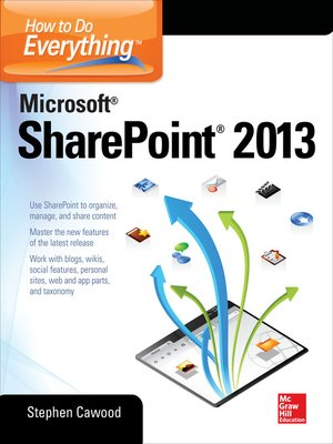 cover image of How to Do Everything Microsoft SharePoint 2013