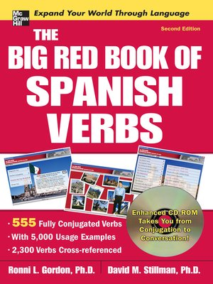 cover image of The Big Red Book of Spanish Verbs
