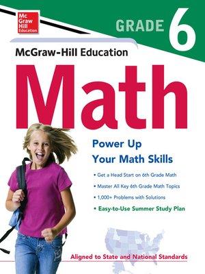 cover image of McGraw-Hill Math Grade 6