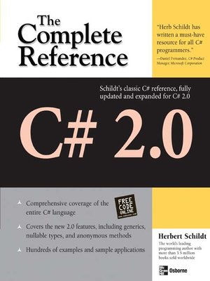 cover image of C# 2.0