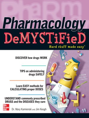 cover image of Pharmacology Demystified