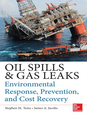 cover image of Oil Spills and Gas Leaks