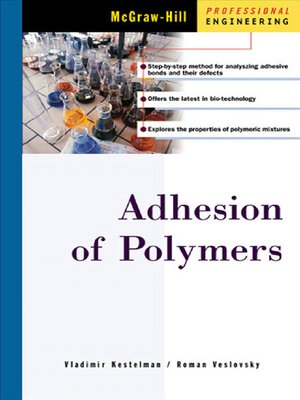 cover image of Adhesion of Polymers