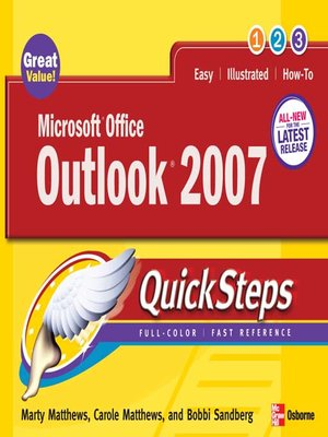 cover image of Microsoft® Office Outlook® 2007