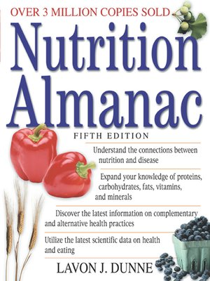 cover image of Nutrition Almanac