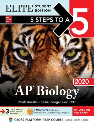 cover image of 5 Steps to a 5: AP Biology 2020