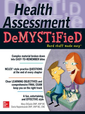 cover image of Health Assessment Demystified