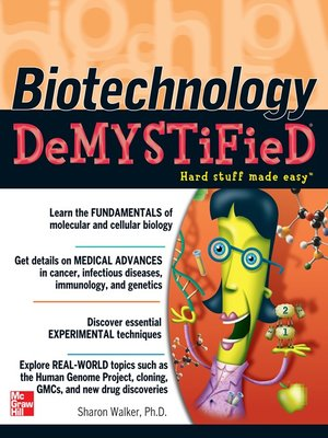 cover image of Biotechnology Demystified