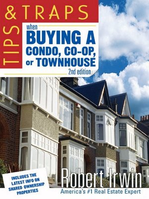 cover image of Tips and Traps When Buying a Condo, co-op, or Townhouse