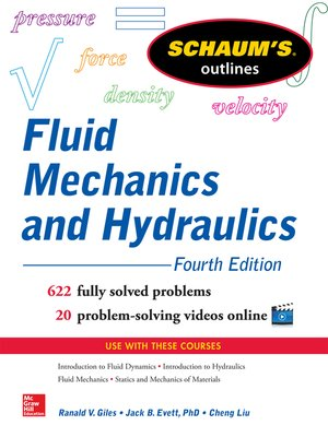 cover image of Schaum's Outline of Fluid Mechanics and Hydraulics
