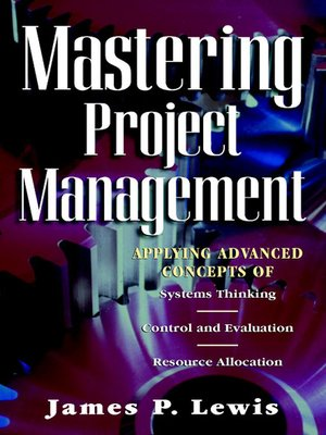 cover image of Mastering Project Management