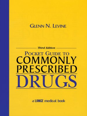 cover image of Pocket Guide to Commonly Prescribed Drugs
