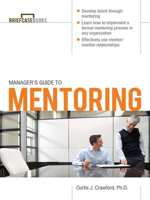 cover image of Manager's Guide to Mentoring
