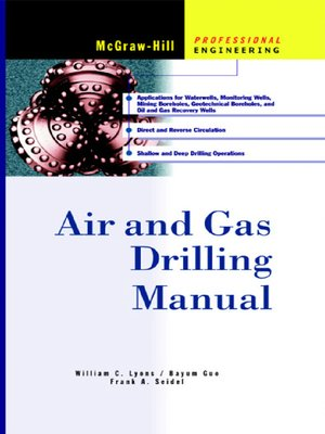 cover image of Air and Gas Drilling Manual