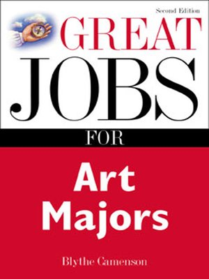 cover image of Great Jobs for Art Majors