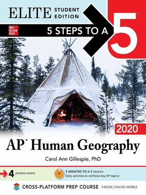 cover image of 5 Steps to a 5: AP Human Geography 2020