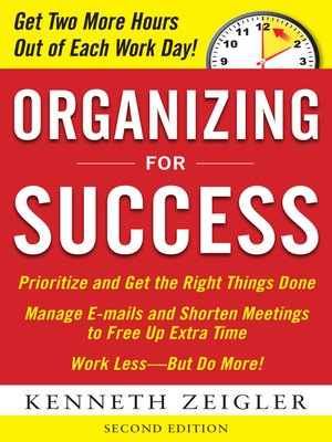 cover image of Organizing for Success