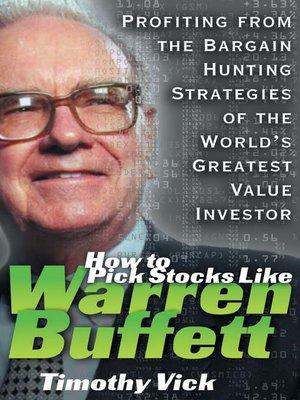 cover image of How to Pick Stocks Like Warren Buffett