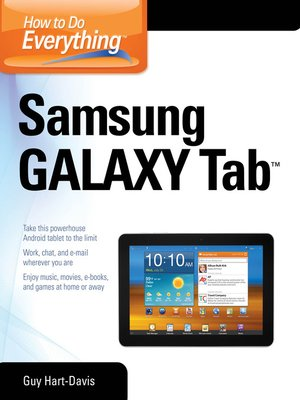 cover image of How to Do Everything Samsung Galaxy Tab