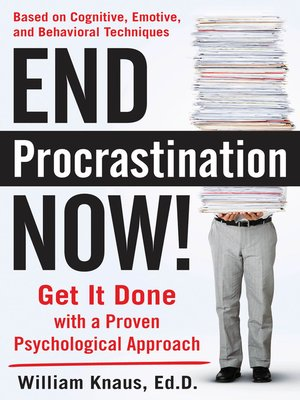 cover image of End Procrastination Now!