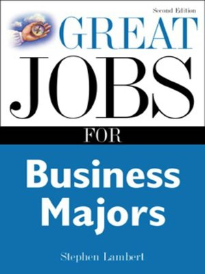cover image of Great Jobs for Business Majors