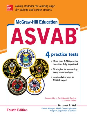cover image of McGraw-Hill Education ASVAB