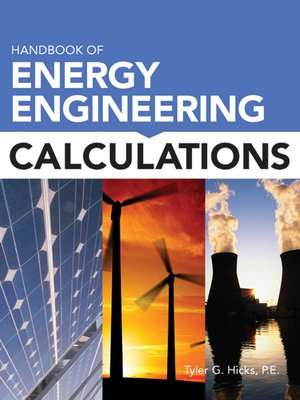 cover image of Handbook of Energy Engineering Calculations