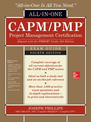 capm pmp all in one exam guide pdf
