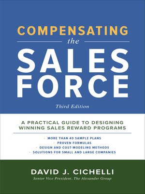 cover image of Compensating the Sales Force