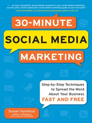 cover image of 30-Minute Social Media Marketing
