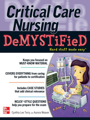cover image of Critical Care Nursing Demystified
