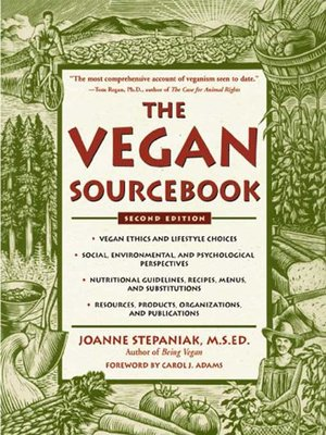 cover image of The Vegan Sourcebook