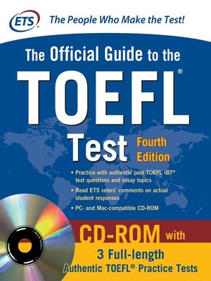 cover image of Official Guide to the TOEFL Test