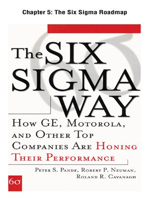 cover image of The Six Sigma Roadmap