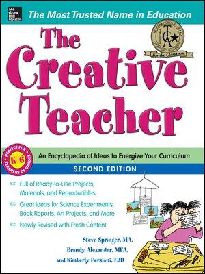 cover image of Creative Teacher 2/E (BOOK)