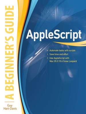 cover image of AppleScript