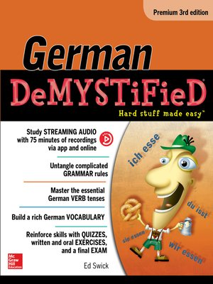 cover image of German Demystified, Premium