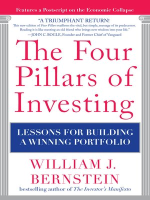cover image of The Four Pillars of Investing