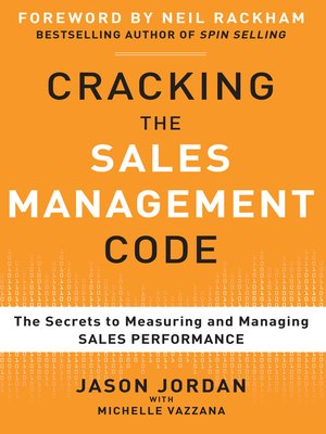cover image of Cracking the Sales Management Code