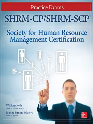 cover image of SHRM-CP/SHRM-SCP Certification Practice Exams