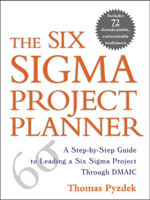 cover image of The Six Sigma Project Planner