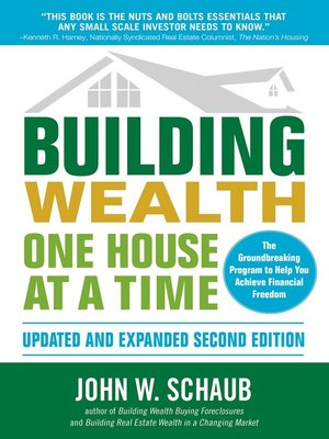 cover image of Building Wealth One House at a Time, Updated and Expanded