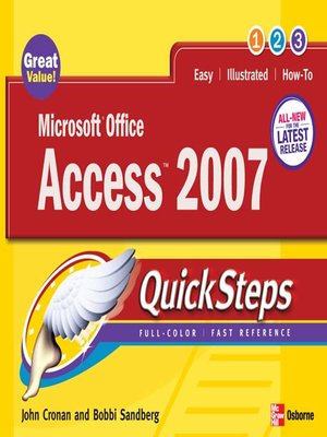 cover image of Microsoft&#174; Office Access<sup>TM</sup> 2007