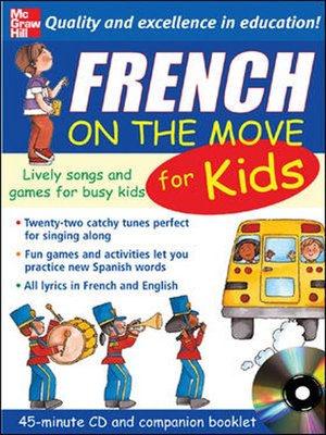 cover image of French on the Move for Kids