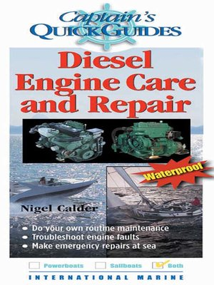 cover image of Diesel Engine Care and Repair