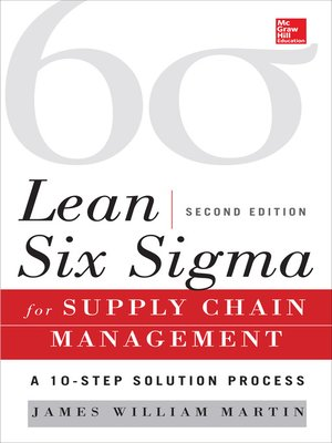 cover image of Lean Six Sigma for Supply Chain Management