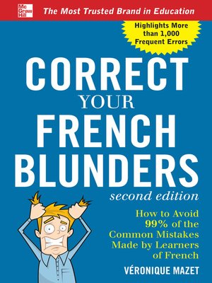cover image of Correct Your French Blunders